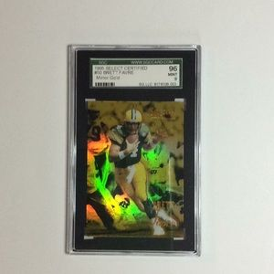 1995 Select Certified Mirror Gold Brett Favre #50